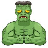 Frankenstein cartoon. Royalty Free Stock Photos