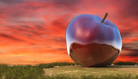 Illustration of fruit, apple Royalty Free Stock Photos