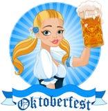 Oktoberfest Girl Stock Images
