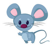 Funny mouse. Illustration of a funny mouse Royalty Free Stock Image