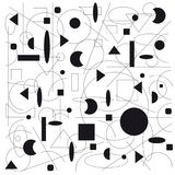 Illustration géométrique abstraite Photographie stock libre de droits