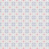 Illustration géométrique abstraite de fond de Mesh Lines Vector Seamless Pattern d'ellipse d'ornement illustration de vecteur