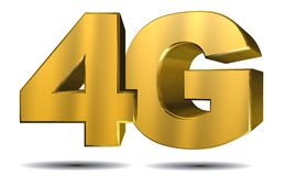 4G illustration Royalty Free Stock Images