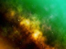 Illustration of Galaxy blurred background. Illustration galaxy blurred background colors star world space art creative wallpaper concept idea graphic design stock illustration