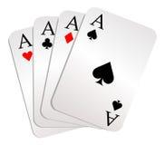 Illustration gambling Royalty Free Stock Photo