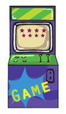 A gaming machine stock illustration