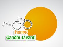 Illustration of Gandhi Jayanti Background. Illustration of elements of Gandhi Jayanti background. Gandhi Jayanti is a national festival celebrated in India to Stock Image