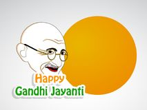 Illustration of Gandhi Jayanti Background. Illustration of elements of Gandhi Jayanti background. Gandhi Jayanti is a national festival celebrated in India to Royalty Free Stock Images