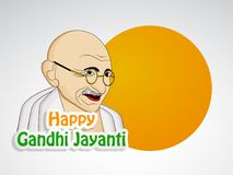 Illustration of Gandhi Jayanti Background. Illustration of elements of Gandhi Jayanti background. Gandhi Jayanti is a national festival celebrated in India to Stock Images