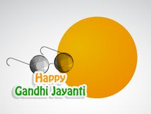 Illustration of Gandhi Jayanti Background. Illustration of elements of Gandhi Jayanti background. Gandhi Jayanti is a national festival celebrated in India to Royalty Free Stock Image