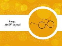 Illustration of Gandhi Jayanti Background Stock Photo