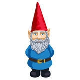 Illustration of garden gnome Royalty Free Stock Photography