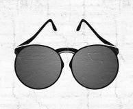 Illustration gentille de lunettes de soleil Photographie stock libre de droits