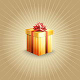 Illustration of a gift box Royalty Free Stock Image