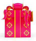 Illustration of giftbox Royalty Free Stock Images
