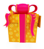 Illustration of giftbox Royalty Free Stock Photo