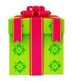Illustration of giftbox Royalty Free Stock Photos