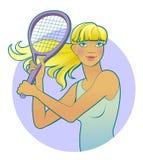 Illustration of girl. Stock Photos