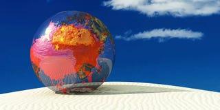 Illustration of a globe Stock Photography
