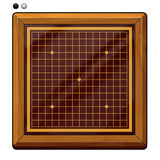 Illustration: Go Game, Gomoku Chess, Renju Chess Related: Chess Pieces, Chess Board, etc. Royalty Free Stock Photos