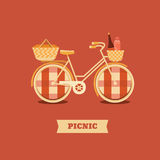 Illustration go to picnic Stock Photography