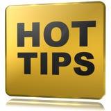 Hot tips Royalty Free Stock Image