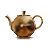 Illustration of a Golden kettle. High resolution 3d Stock Images