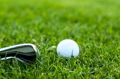 Illustration of a golf ball Royalty Free Stock Photos