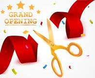 Grand opening background Royalty Free Stock Photos