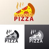 Logo for pizzeria Royalty Free Stock Photography