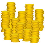 Illustration Graphic Vector Coins Royalty Free Stock Images
