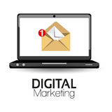 Illustration Graphic Vector Digital Marketing Royalty Free Stock Images