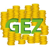 Illustration Graphic Vector Money GEZ Royalty Free Stock Image