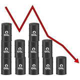 Illustration Graphic Vector Price of Oil Stock Photo