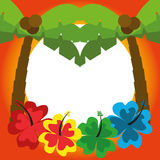 Illustration Graphic Vector Summer, Travel, Holiday Stock Image