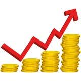 Illustration Graphic Vector win Money Royalty Free Stock Photo
