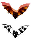 Illustration graphique de 'bat' illustration stock