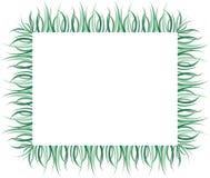 Illustration of Grass border design Stock Photography