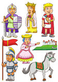 Illustration of Greek Roman cartoon Royalty Free Stock Photo