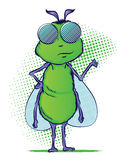 Insect Cartoon Character Stock Photo