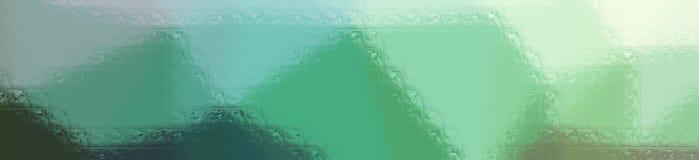 Illustration of green glass blocks background, abstract banner. Illustration of green glass blocks background, abstract paint vector illustration