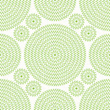 Illustration of green seamless pattern. Stock Photos