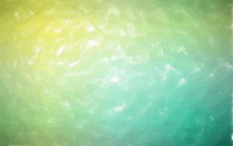 Illustration of green and yellow Watercolor with large brush strokes background. Illustration of green and yellow Watercolor with large brush strokes background stock illustration