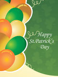 Illustration gretting card for patrick day Stock Photo
