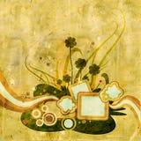 Illustration grunge d'oxalide petite oseille Photographie stock libre de droits
