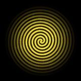 Illustration grunge de l'hypnotique Background.Vector de rétro vintage Photos stock