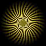 Illustration grunge de l'hypnotique Background.Vector de rétro vintage Photos libres de droits