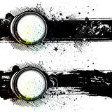 illustration-grunge ink background Stock Photo