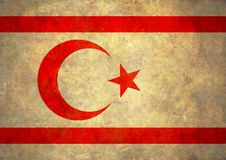 Grunge Northern Cyprus Flag Stock Photos