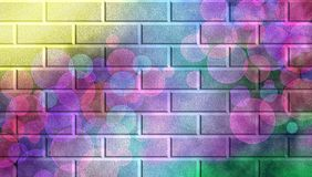 Magic wall background Royalty Free Stock Photo
